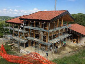 Grondona - costruzione casa in legno
